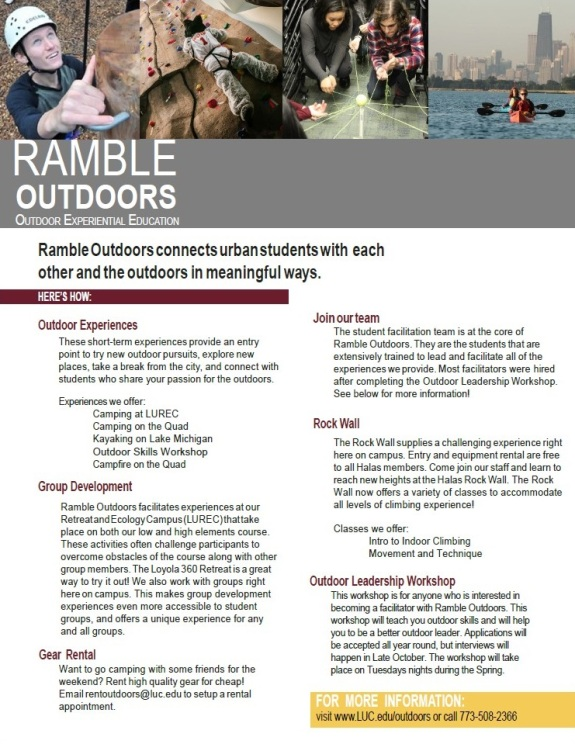 Ramble Outdoors