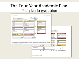 4 Year Plan Guide 1