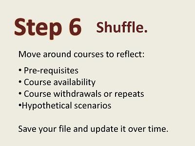 4 Year Plan Guide 8